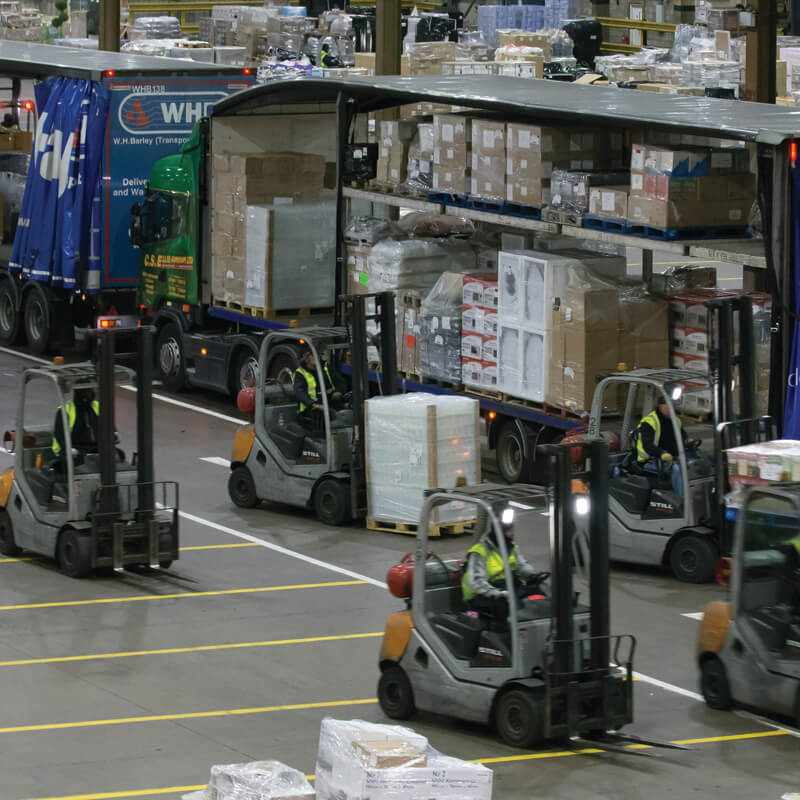 Palletline Forklifts in Action