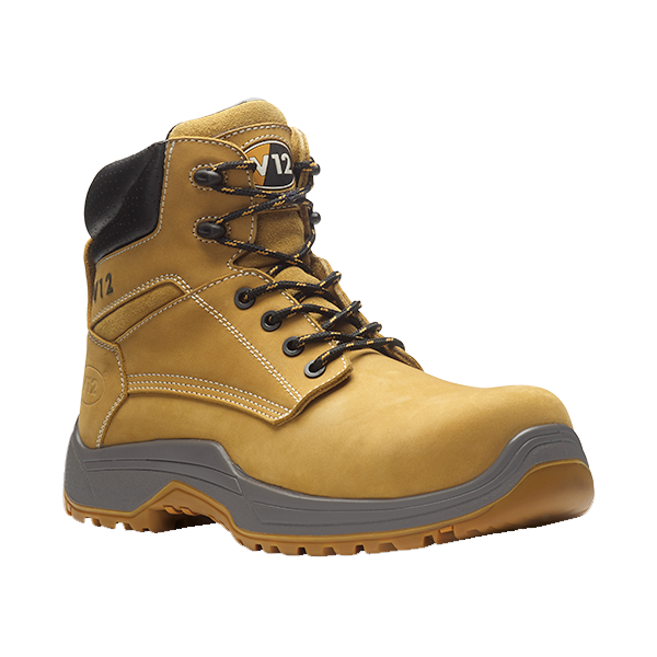 iSB Safety Footwear Product: VR6 Nubuck Ankle Boot