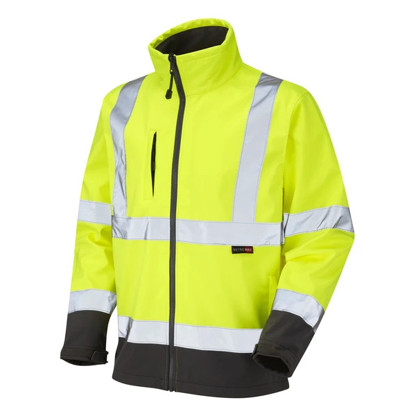 iSB Group: PPE Product: Hi-Viz Softshell Jacket