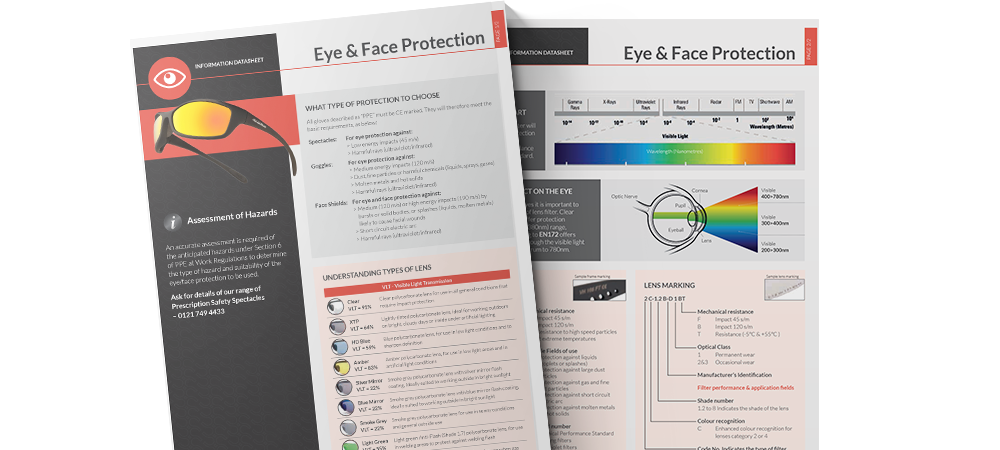iSB Group: Eye and Face Protection Resource