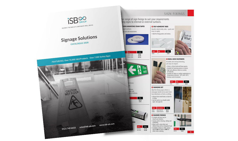 iSB Group: Signage Solutions Catalogue 2020