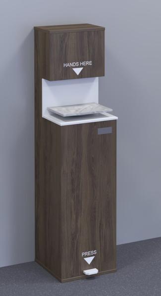 iSB Group Product: Ramsol Elite Sanitising Station