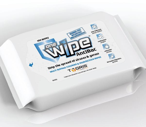 iSB Group Product: Onewipe Anti Bacterial Wipes
